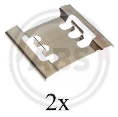 ABS, 1688Q, Ремкомплект гальмiвних колодок