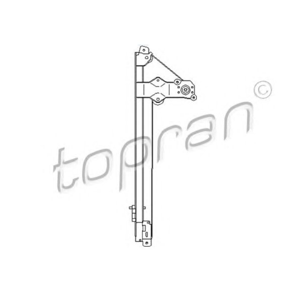 TOPRAN, 207361, Склопiдйомник