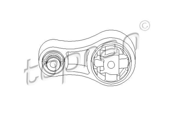 TOPRAN, 207759, Подушка двигуна